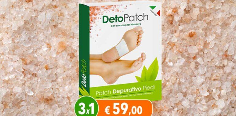 detopatch cerotti plantari depurativi