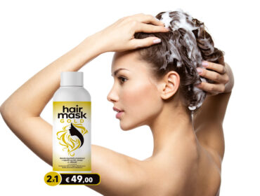hair mask gold 2x1 offerta